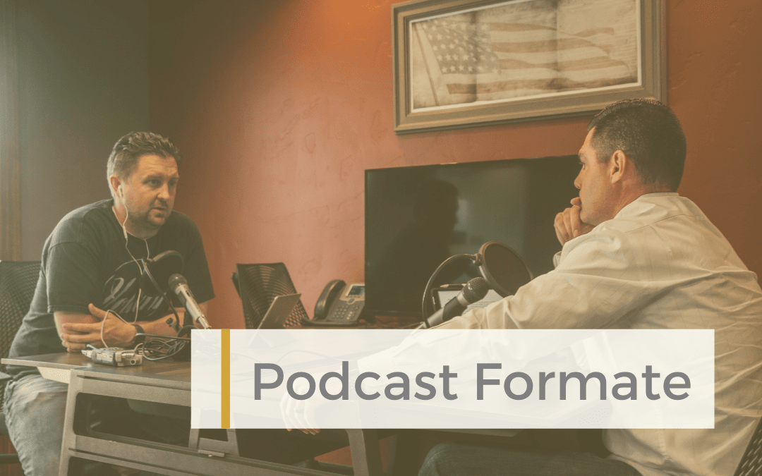 Podcastliebe-Podcast-Formate