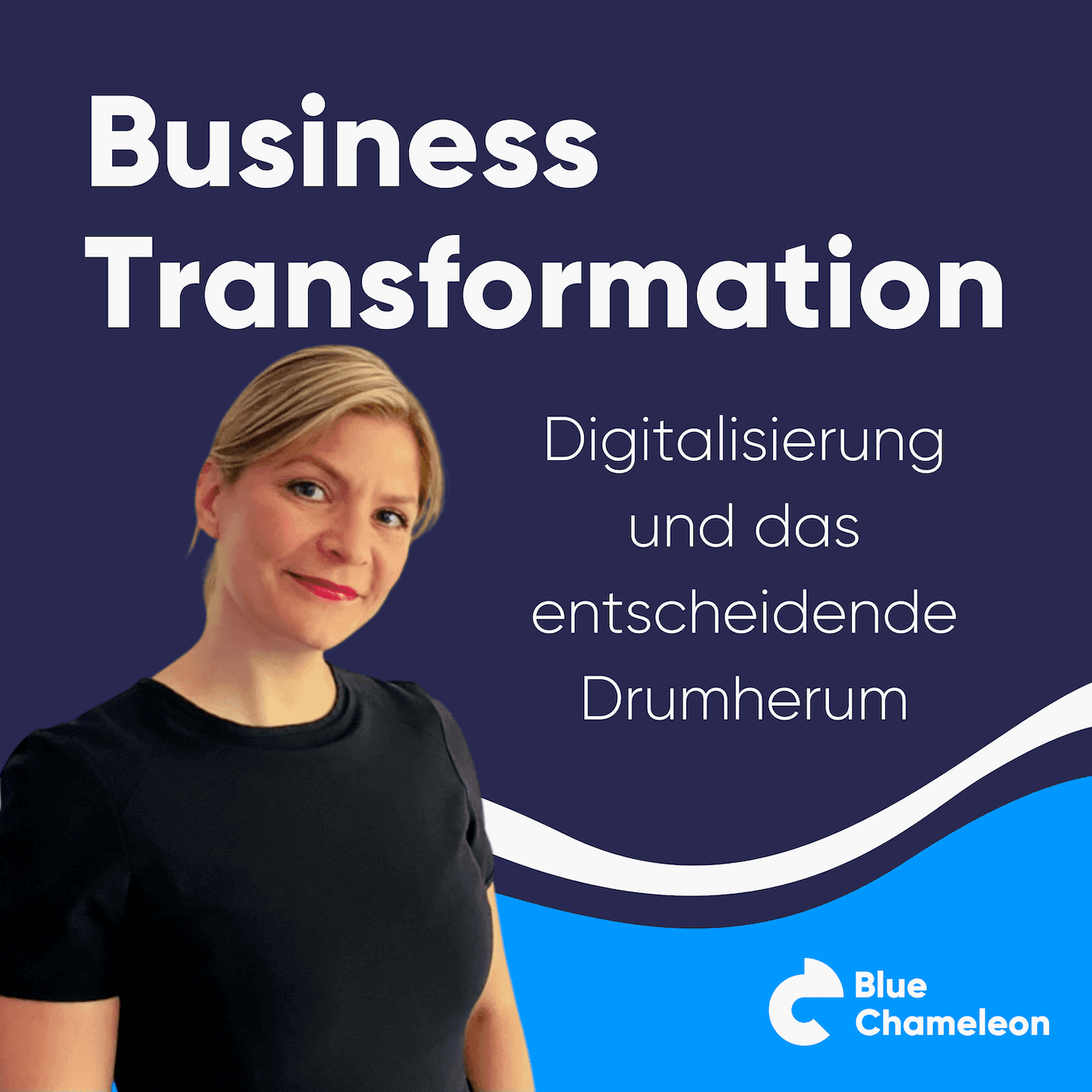 Business Transformation Miriam Schutter Podcast Cover